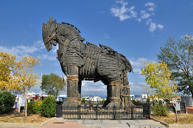 A Visit To Ancient City Troy Turkey