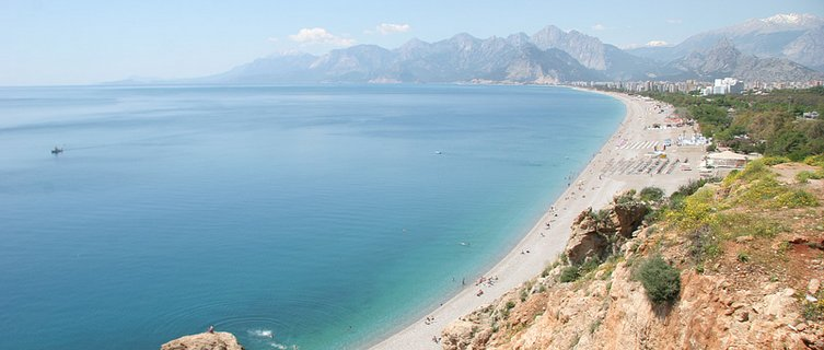 beach in antalya