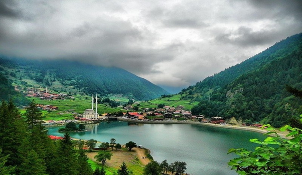 uzungol lake trabzon turkey
