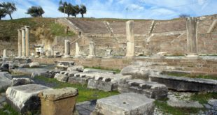4256828 theater and ruins in asklepion bergama turkey
